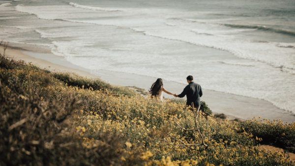 torrey pines engagement session follow me to the end