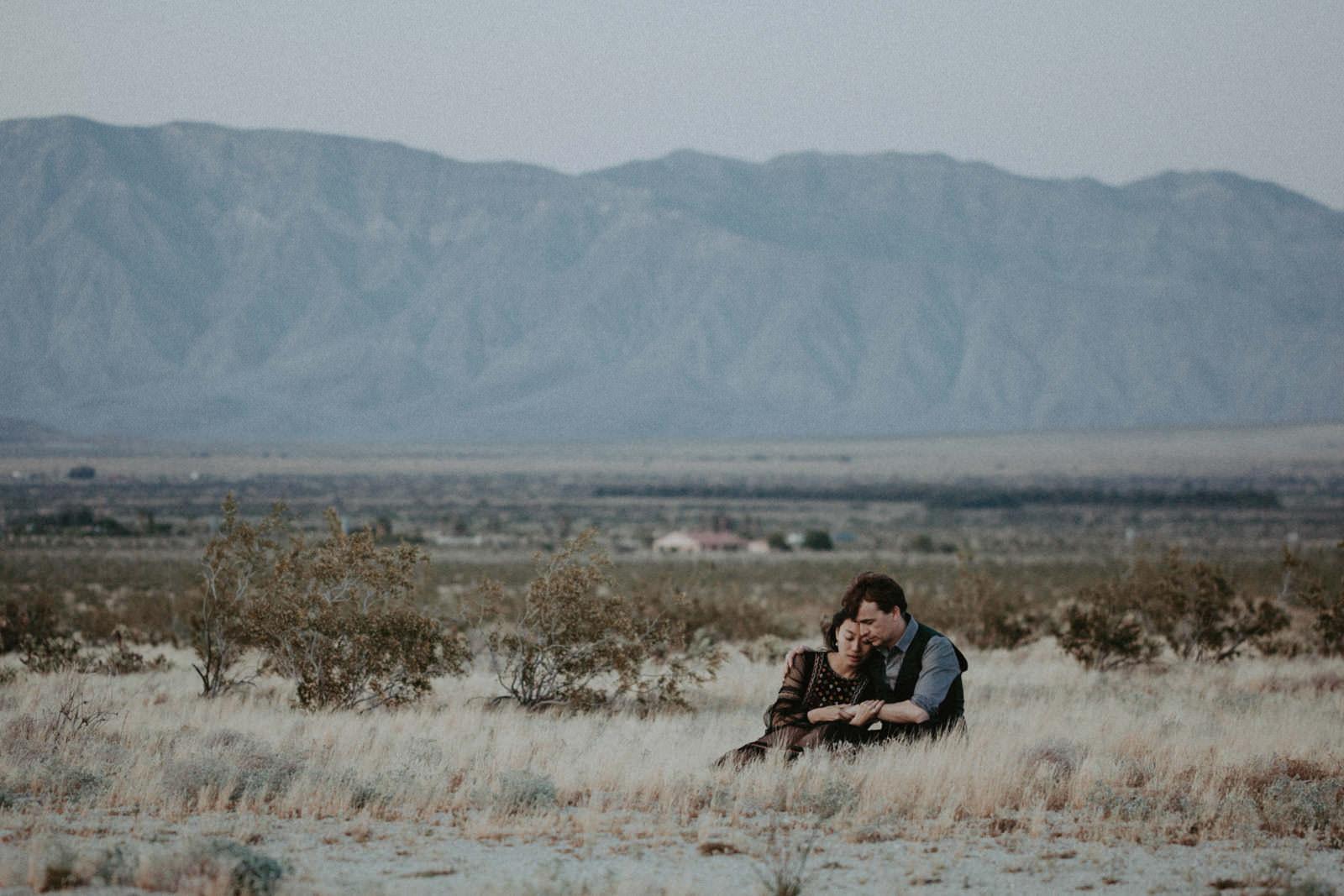 anza borrego desert love engagement session