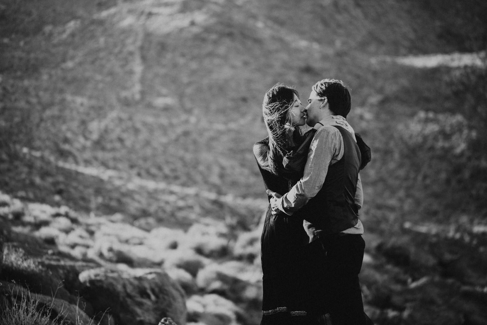 anza borrego derest couples romantic session in sunset