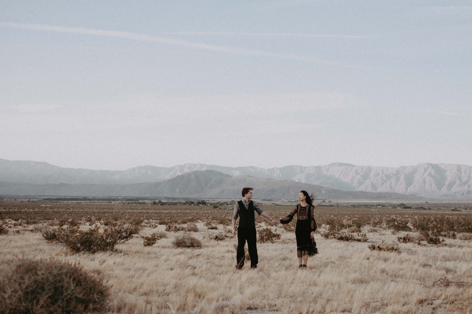couples session in anza borrego california