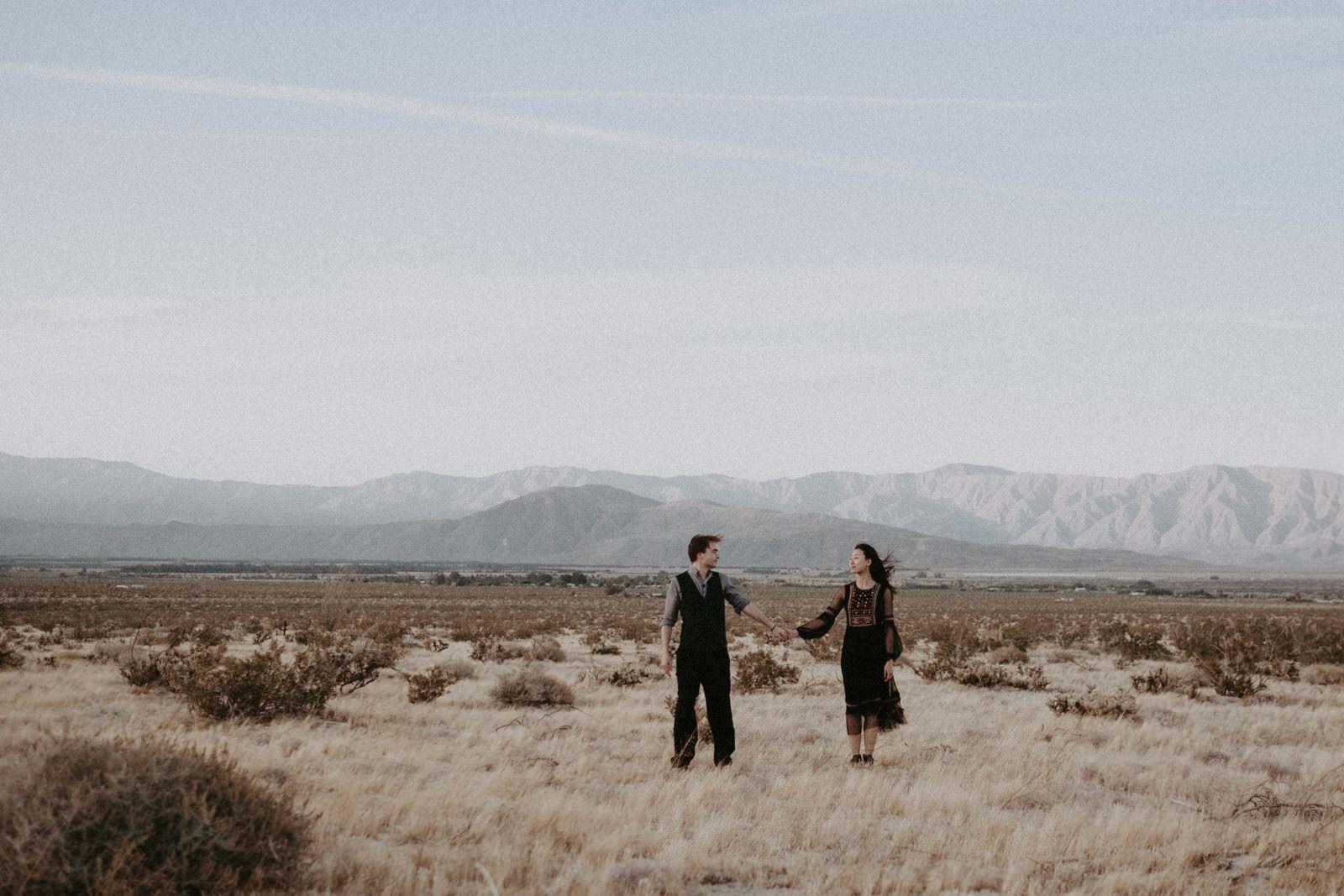 couples session in anza borrego california