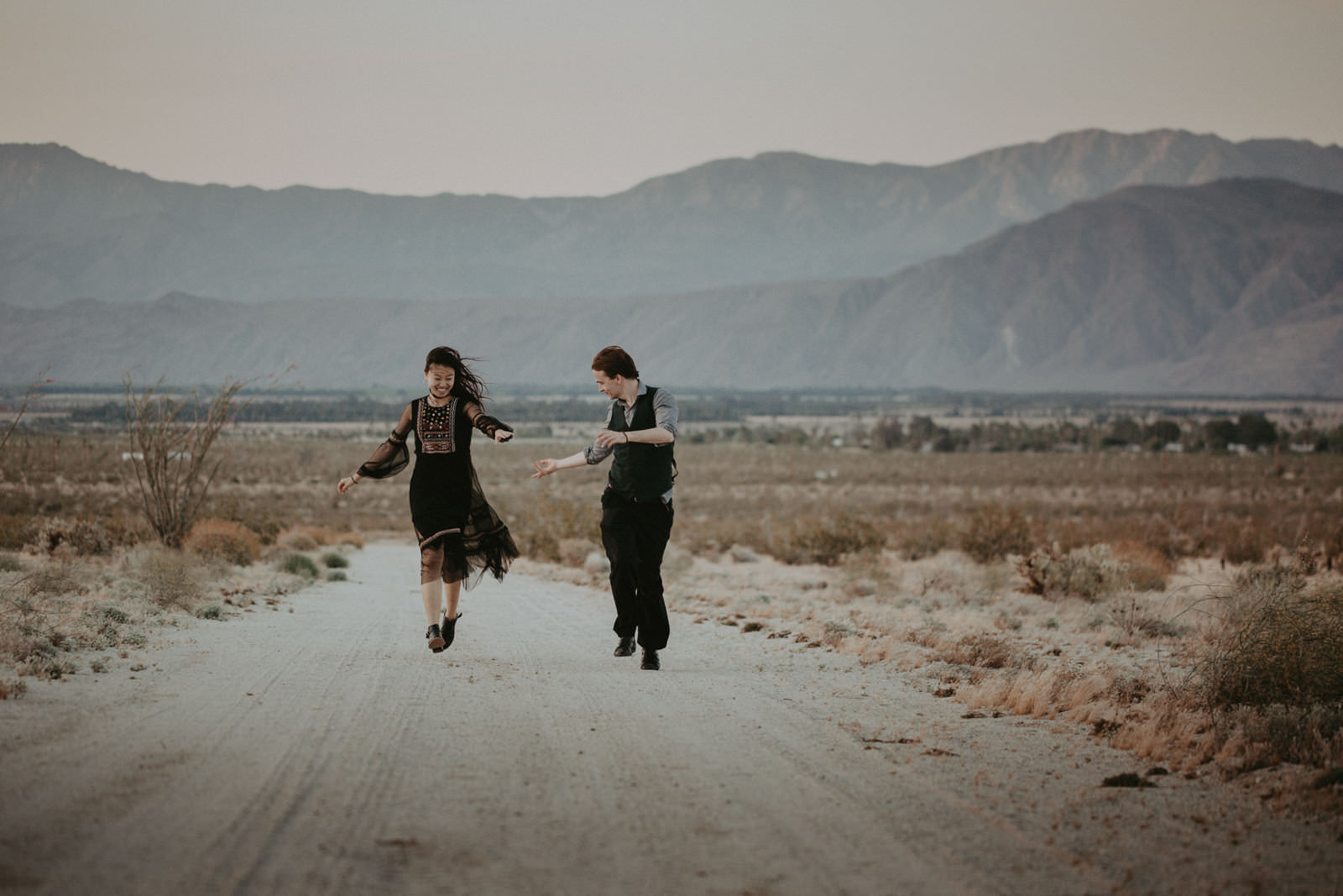 engagement session in anza borrego