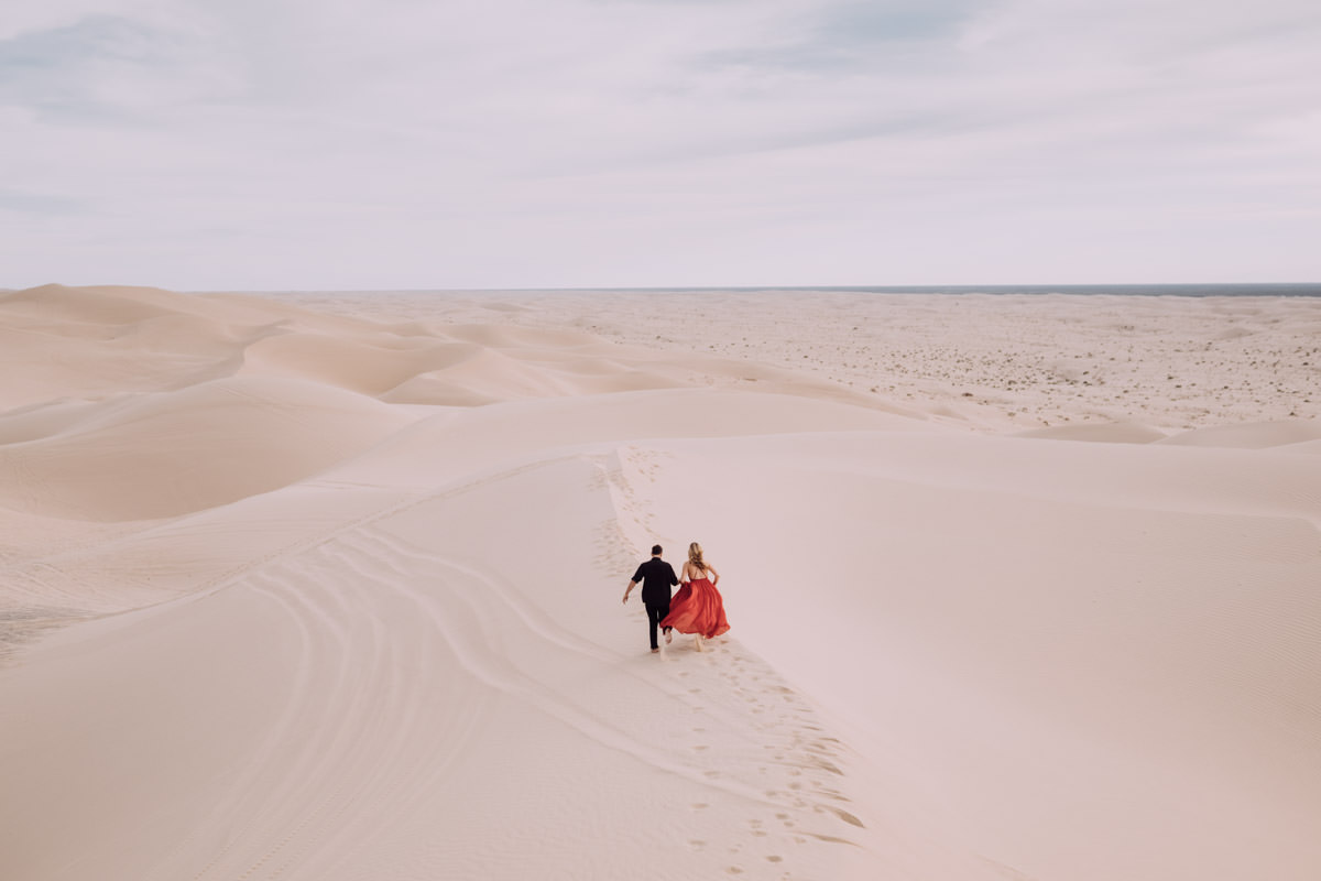San Diego top 7 amazing engagement session locations run free at glamis imperial sand dunes engagement