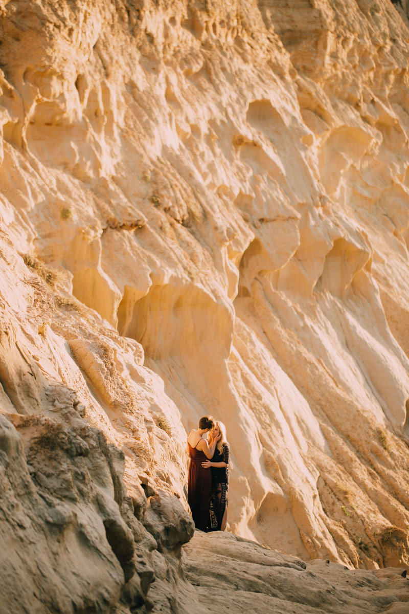 San Diego top 5 amazing engagement session locations entering the canyon engagement at ho chi minh trail