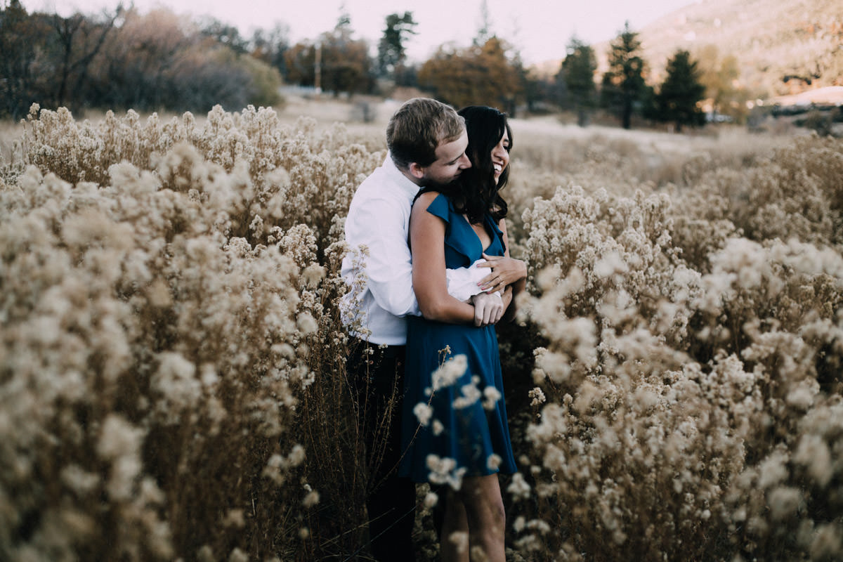San Diego top 5 amazing engagement session locations getting intimate at lake cuyamaca engagement