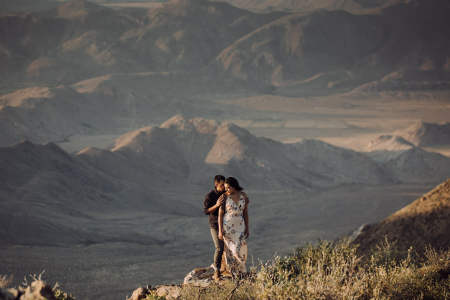 San Diego top 7 amazing engagement session locations breathtaking mount laguna engagement during sunset