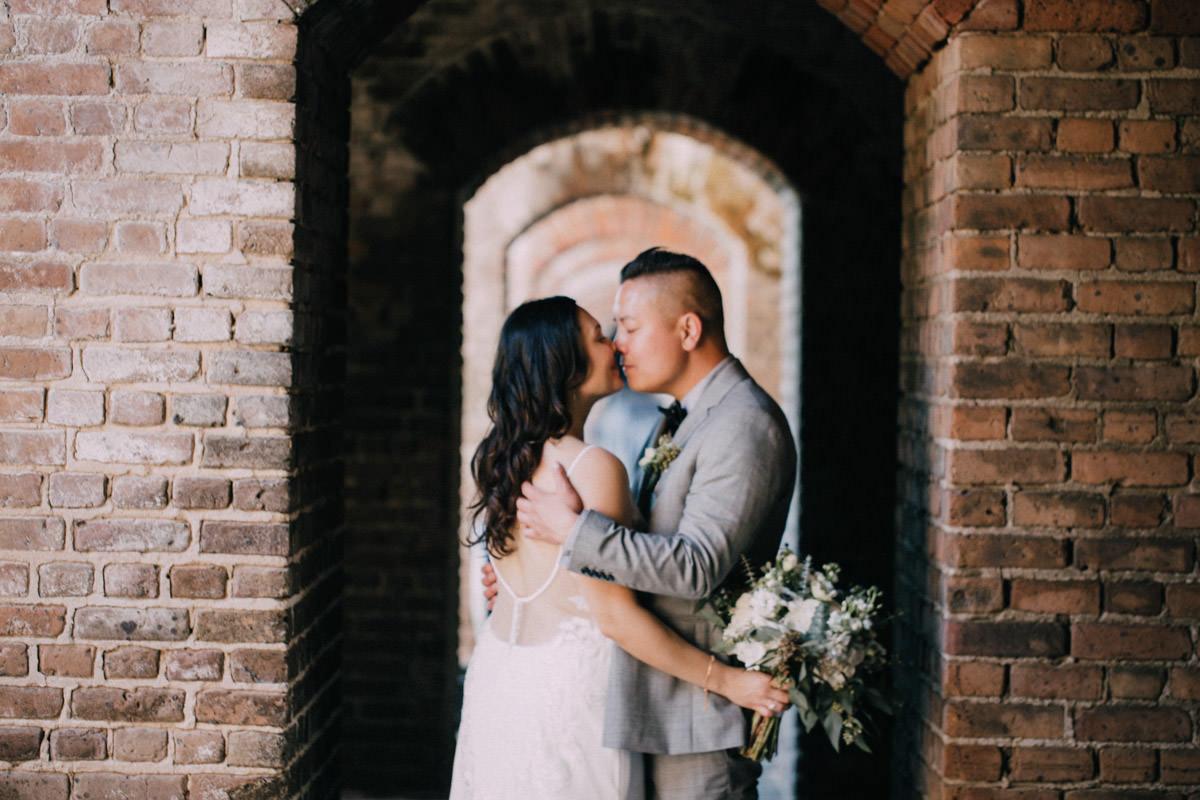 fort zachary wedding key west florida 9