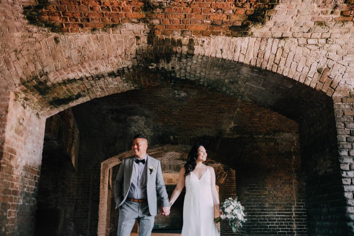 fort zachary wedding key west florida 10
