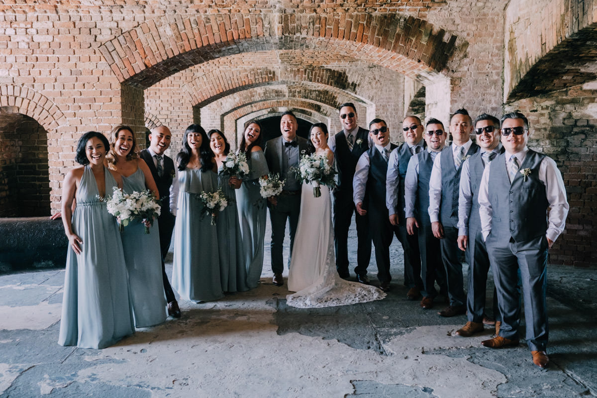 fort zachary wedding key west florida 12