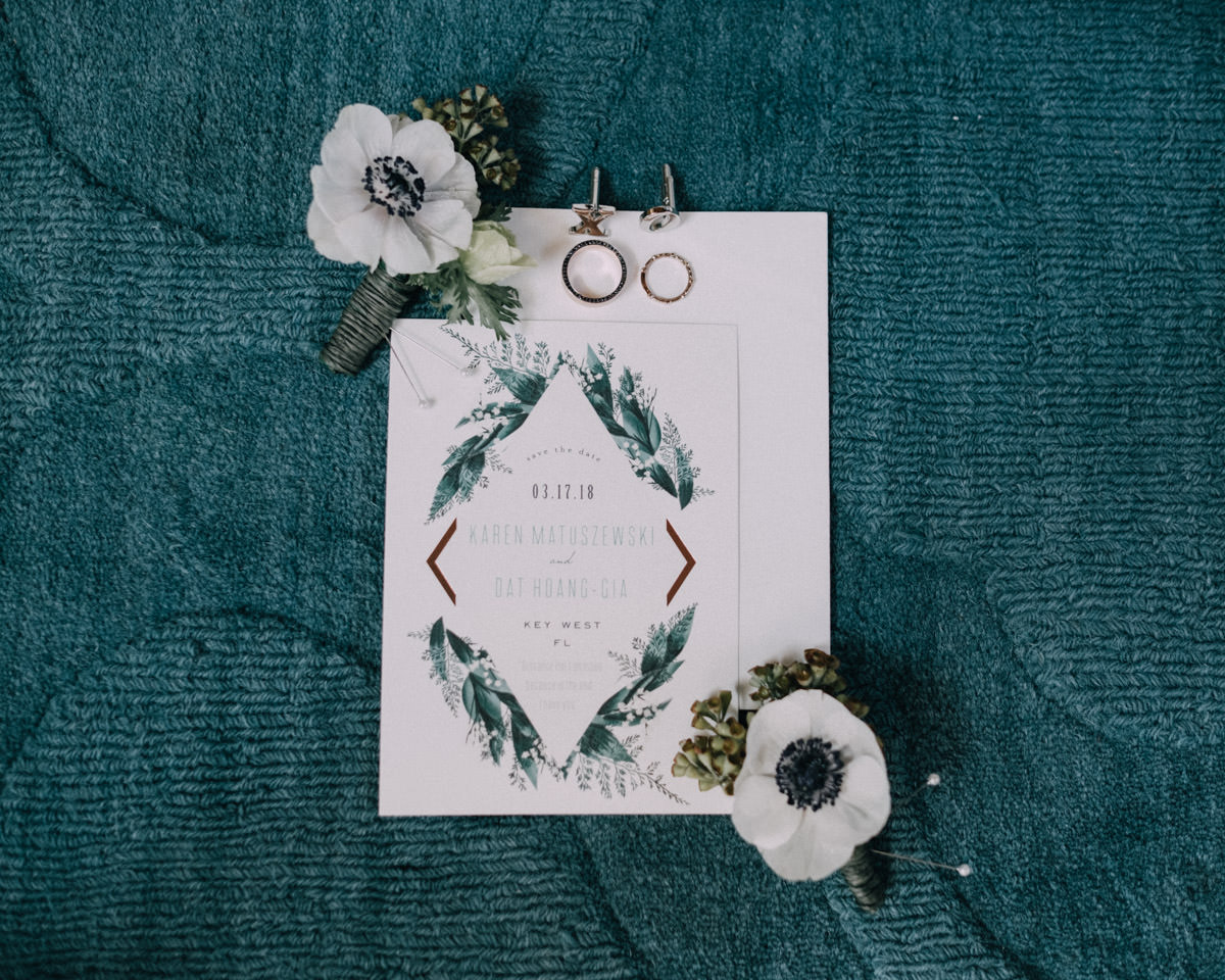 invitation hemingway home wedding key west florida