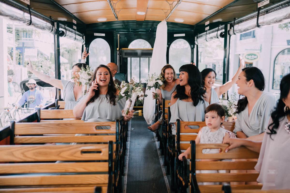 bride getting ready at hemingway home wedding key west florida 19