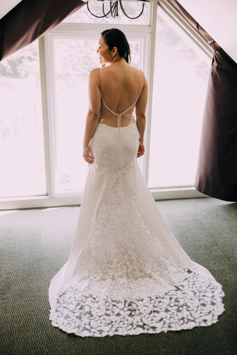 wedding dress at hemingway home wedding key west florida