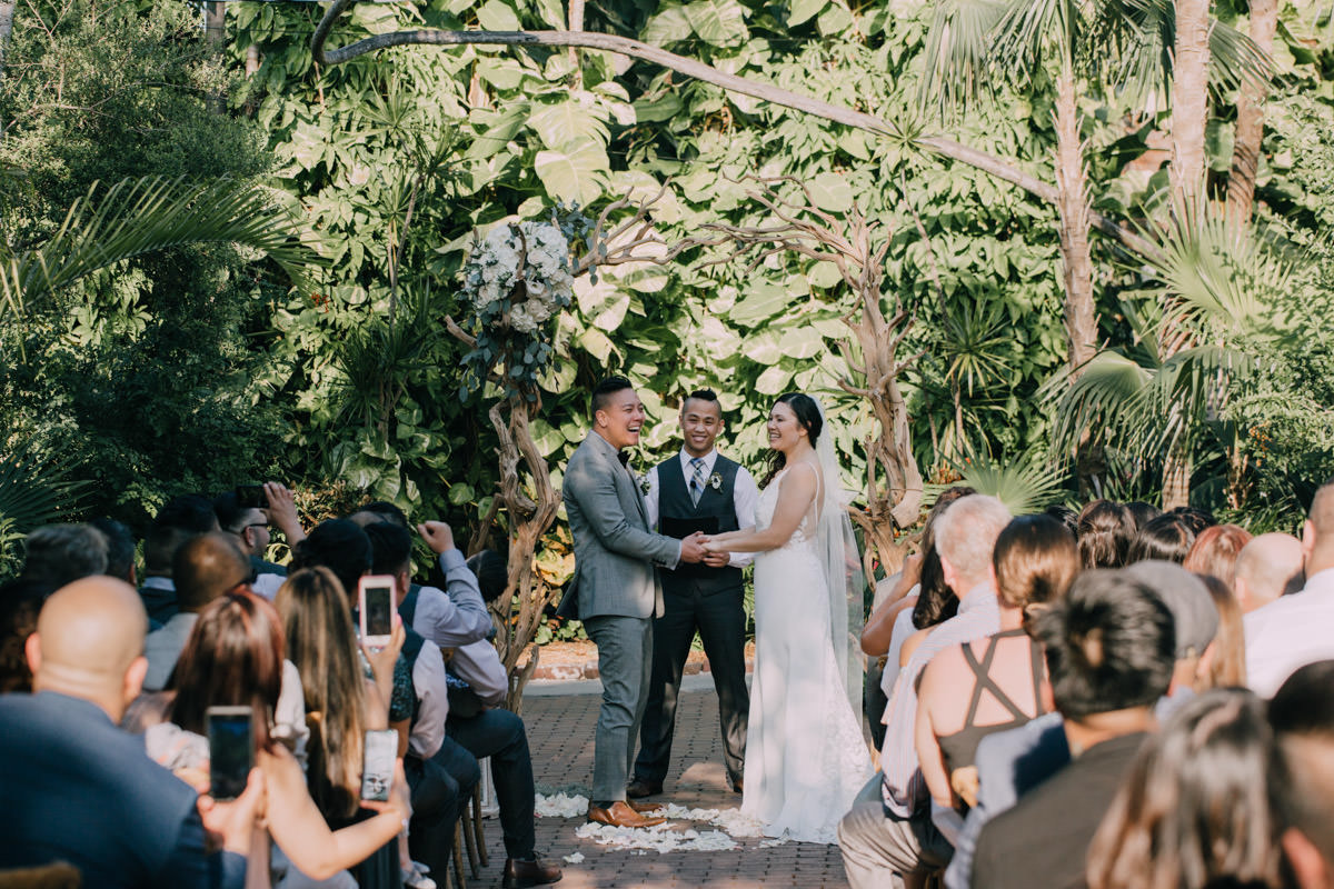 wedding ceremony at hemingway home key west florida 51