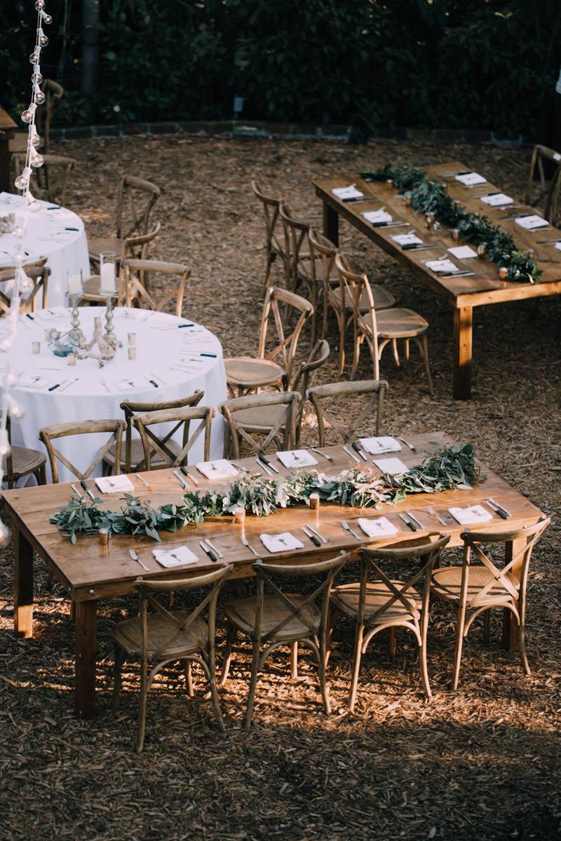 beautiful reception hemingway home wedding key west florida