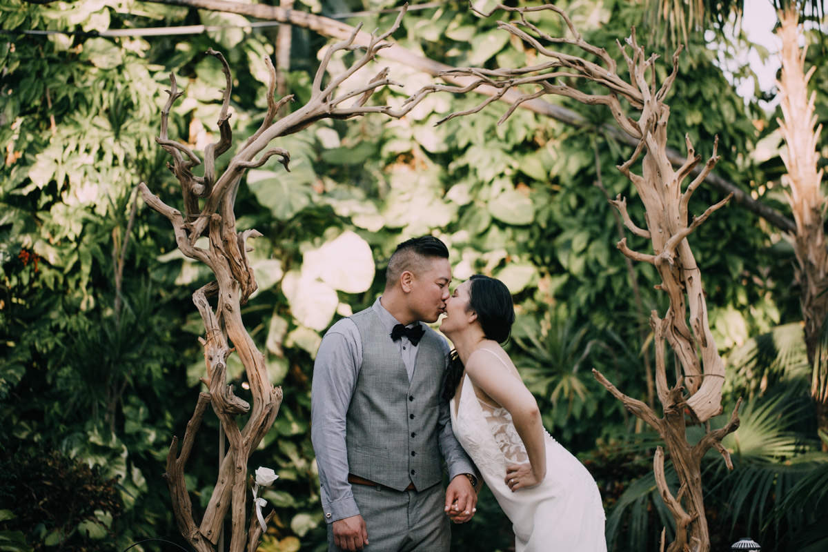 beautiful reception hemingway home wedding key west florida 1