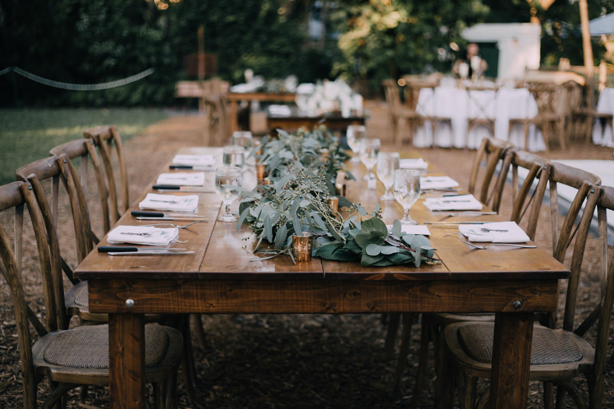 beautiful reception hemingway home wedding key west florida 66