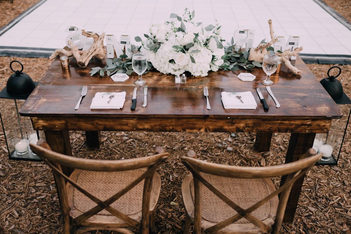beautiful reception at hemingway home wedding key west florida 69