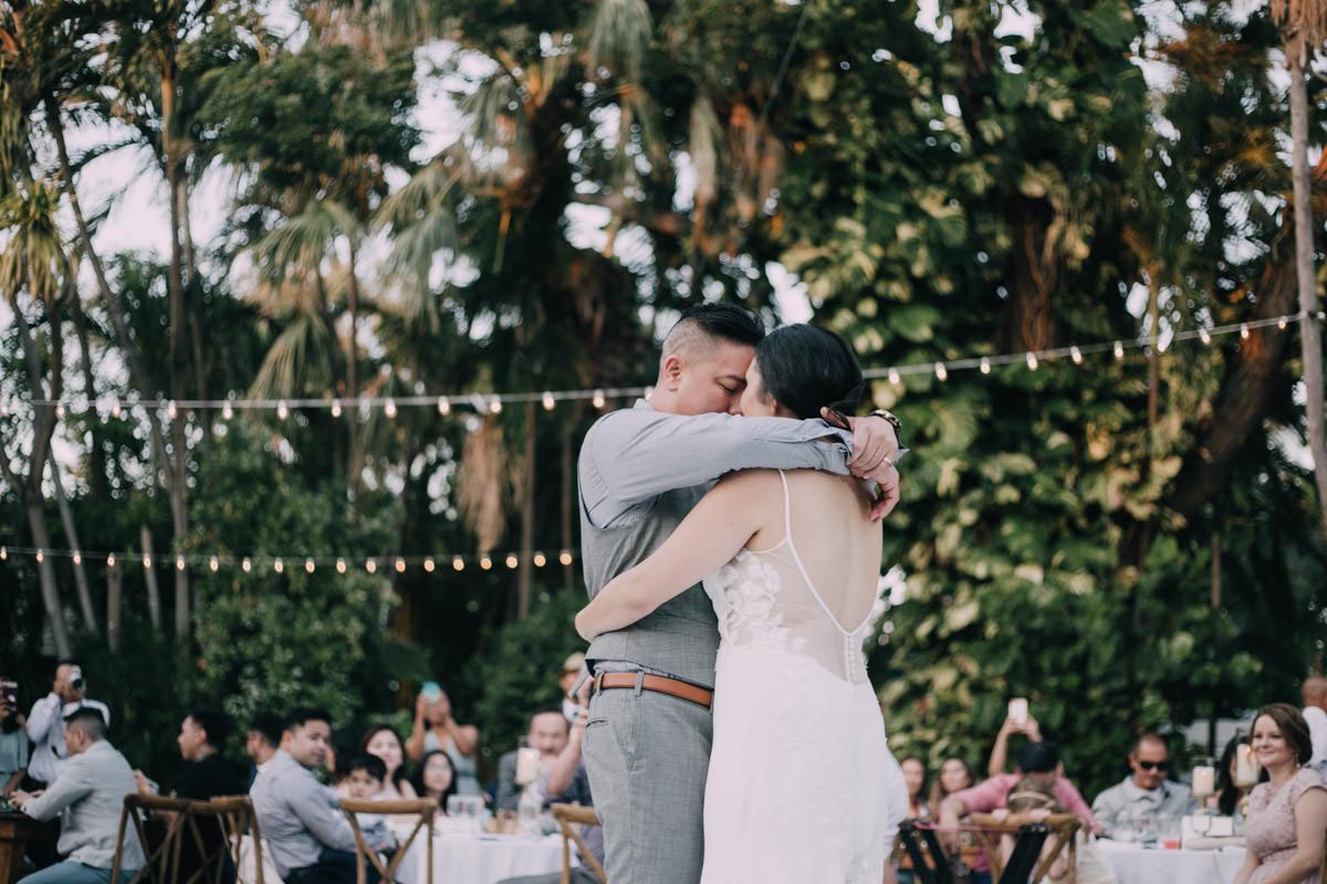 first dance wedding at hemingway home key west florida