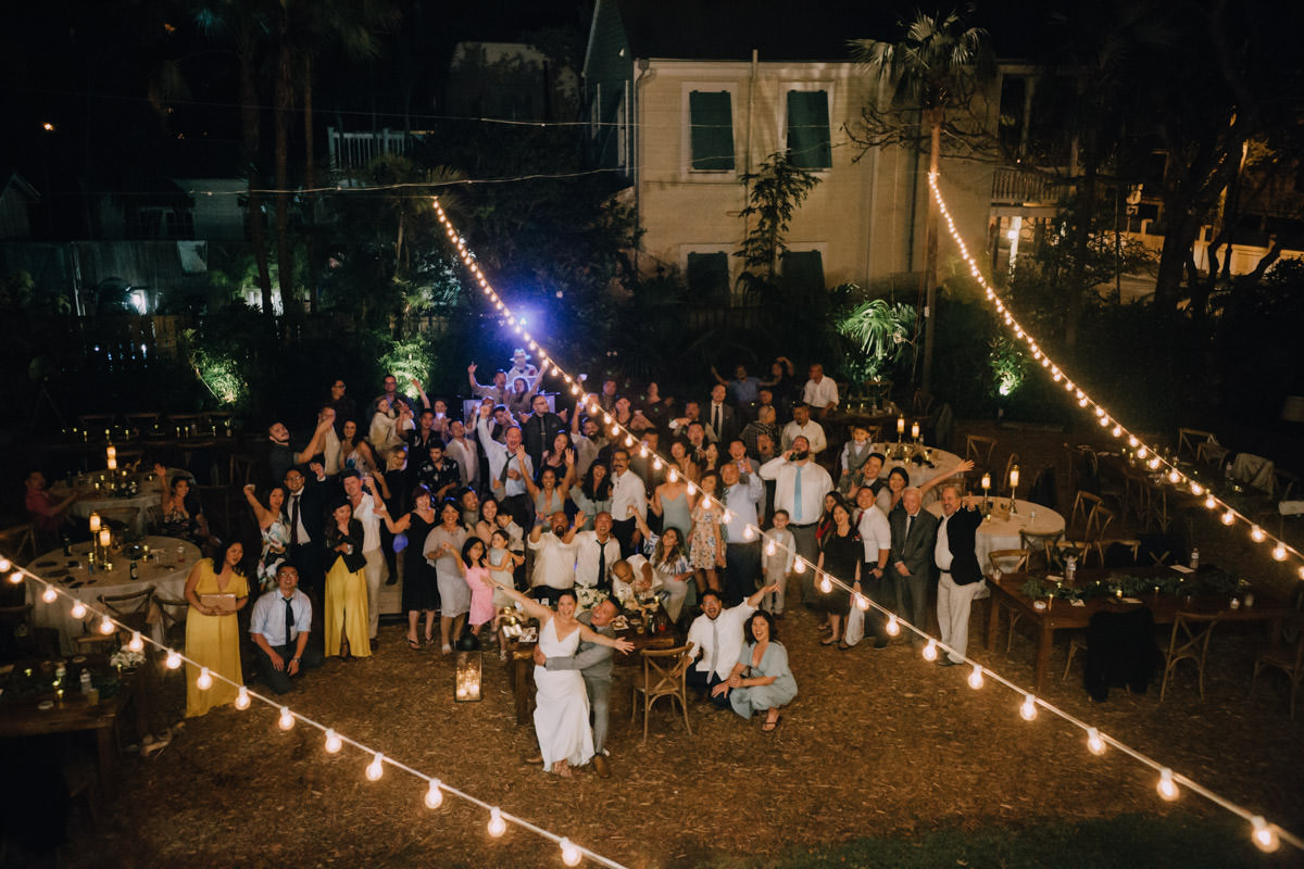 family wedding at hemingway home key west florida