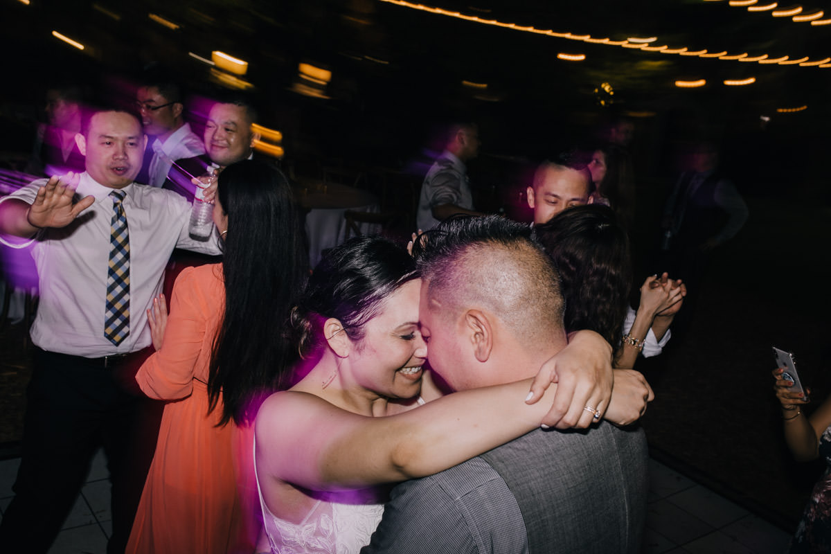 dance floor at hemingway home wedding key west florida 79