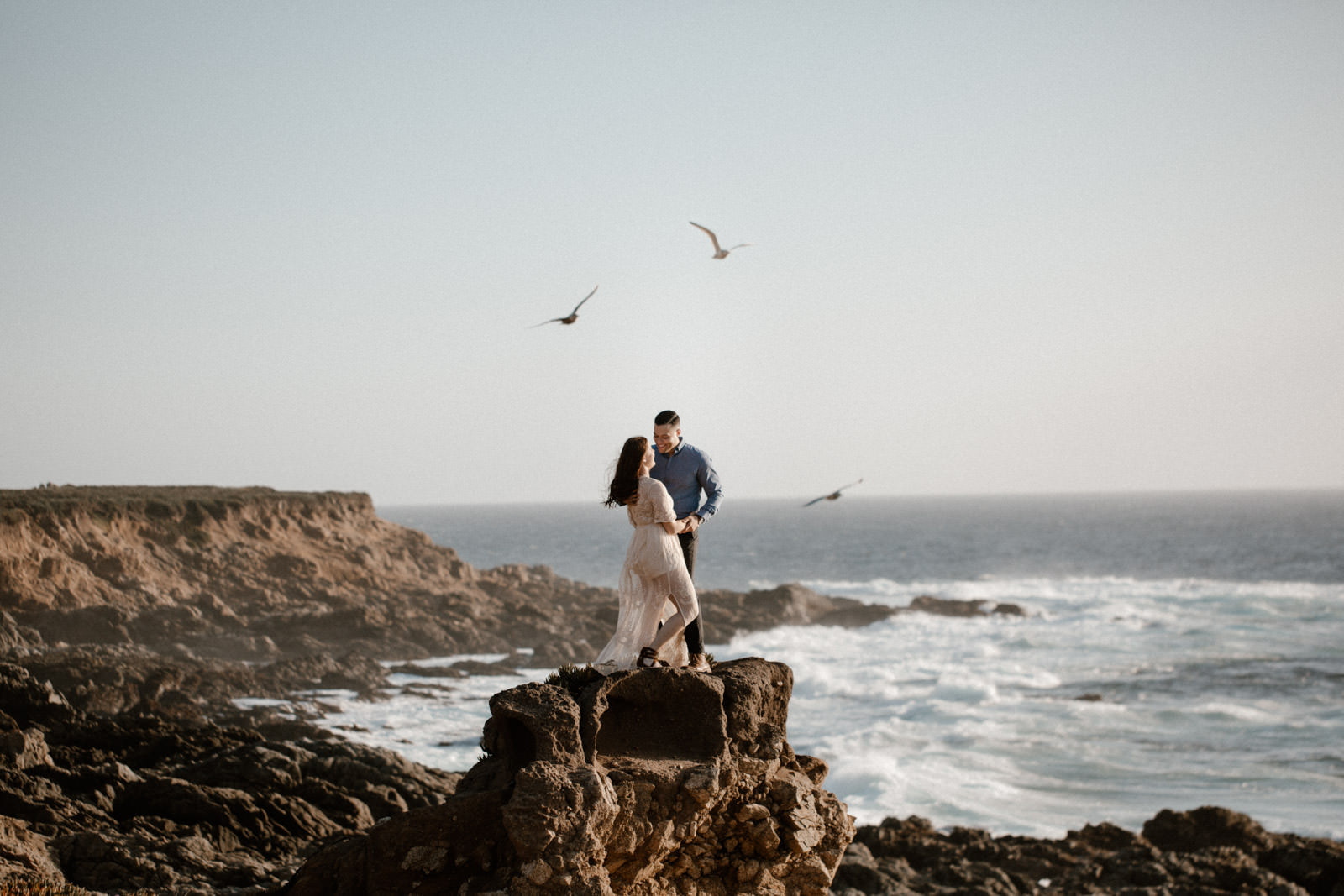 big sur engagment khoa photography