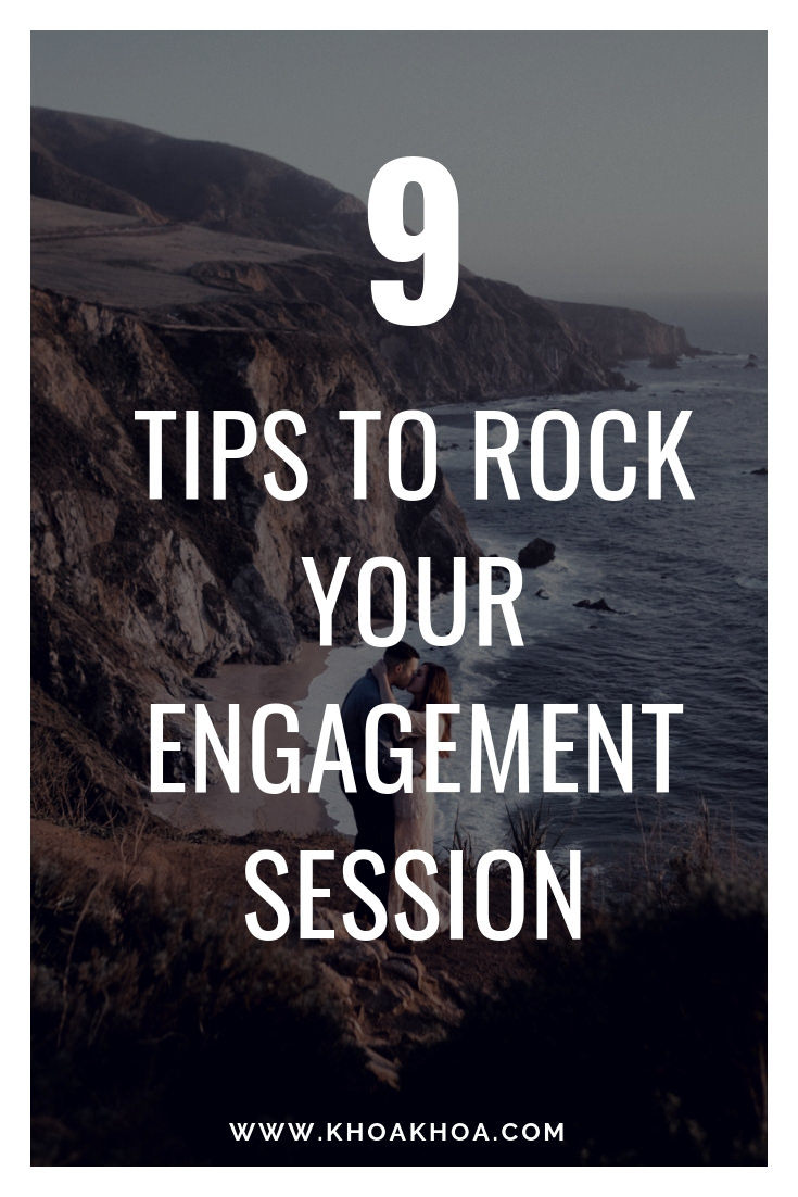 9 tips to rock your engagement session big sur couple