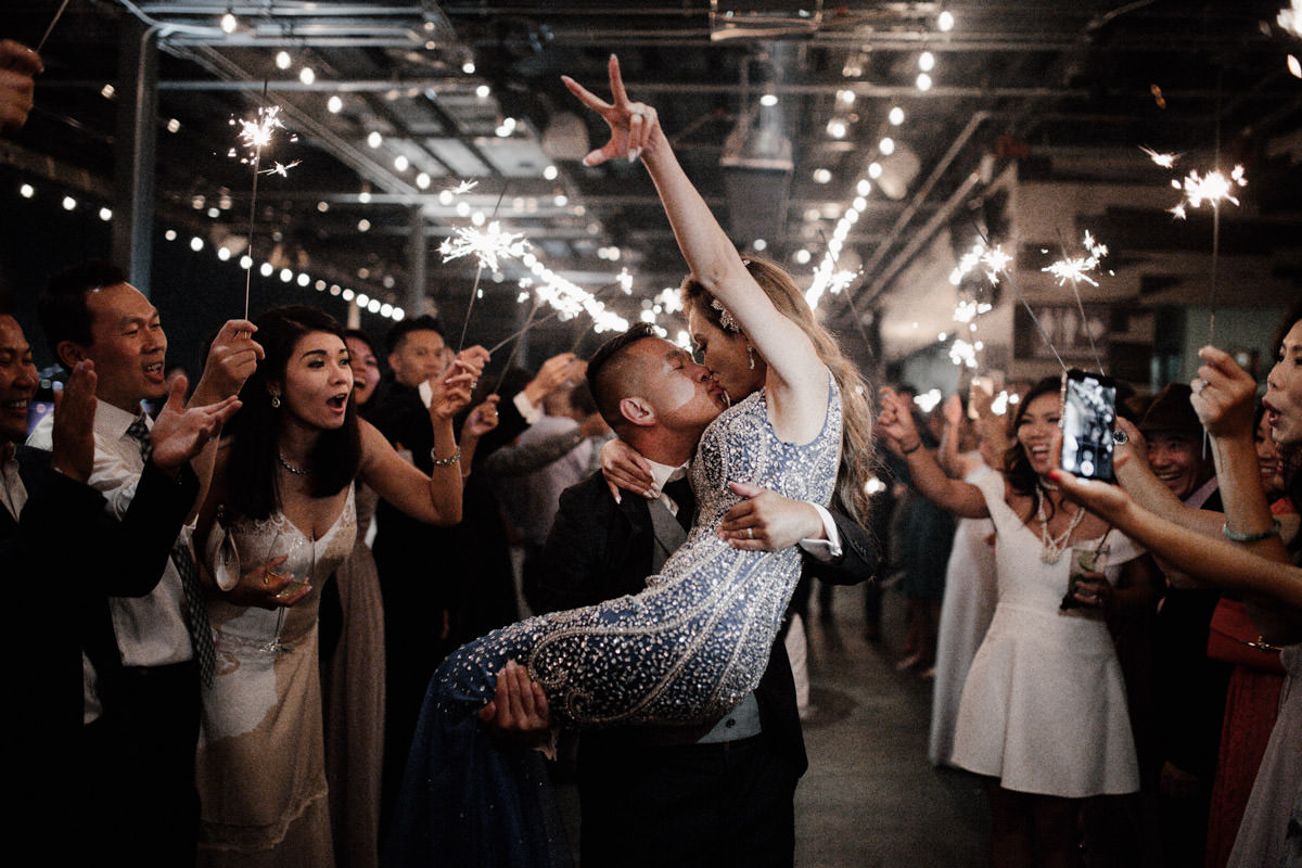 6 tips for getting gorgeous wedding photos - have a formal exit