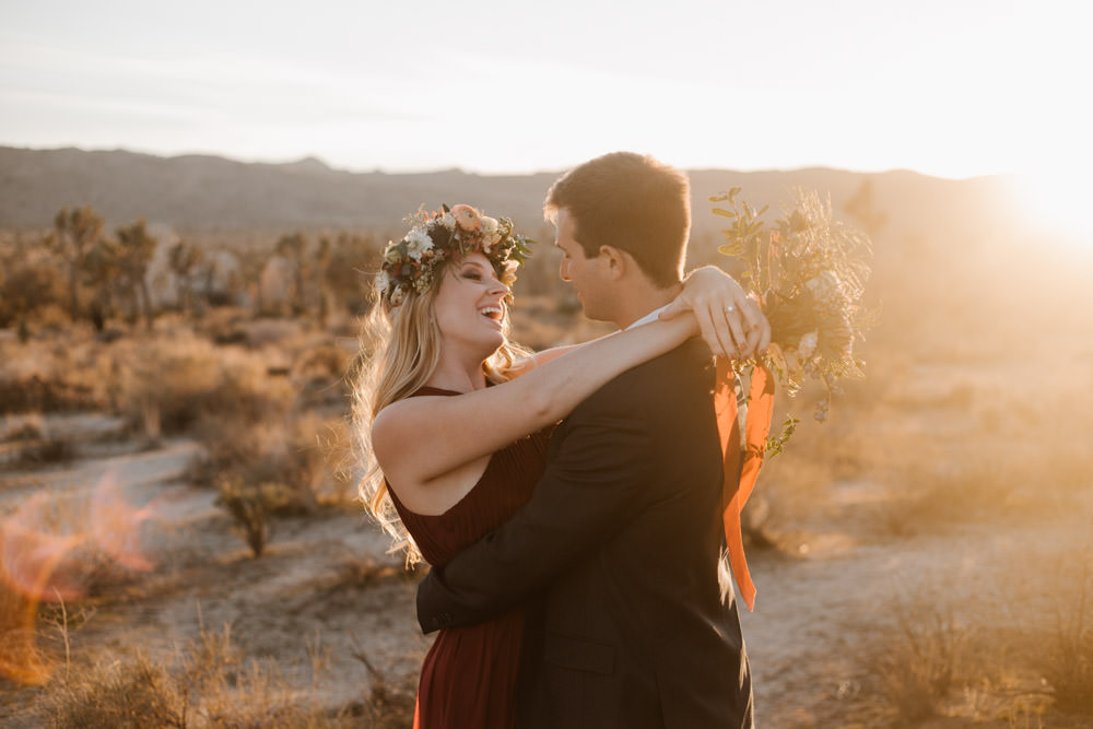 joshua tree + palm springs engagement finally some sunshine