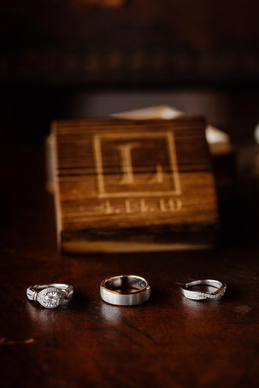 sacred mountain julian wedding beautiful ring details