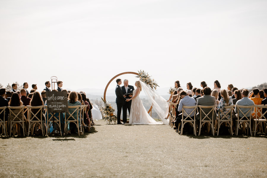 sacred julian wedding dreamy ceremony with loved ones