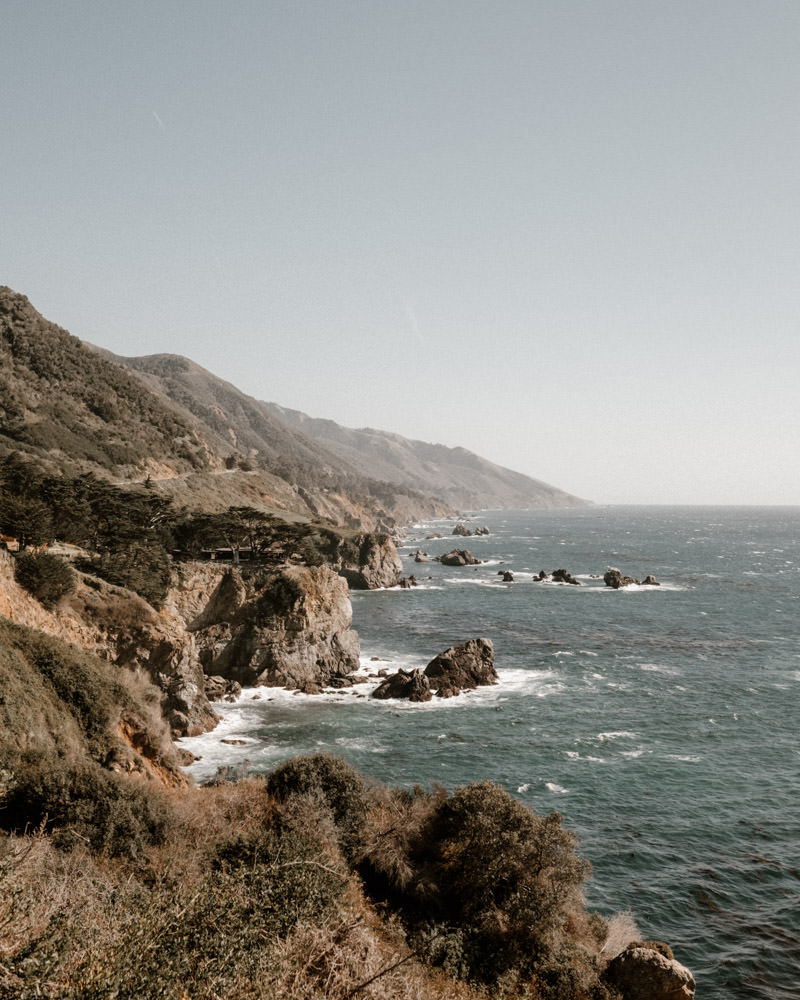 big sur engagement session amazing landscape