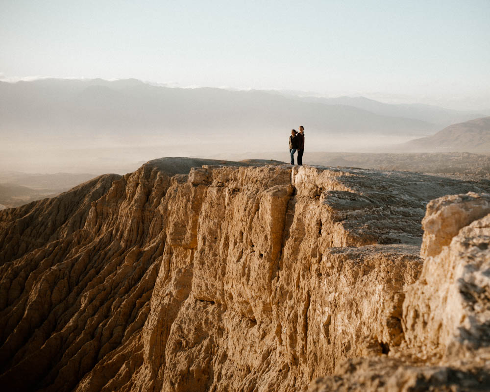 California top 33 epic engagement photography locations anza borrego desert at sunset
