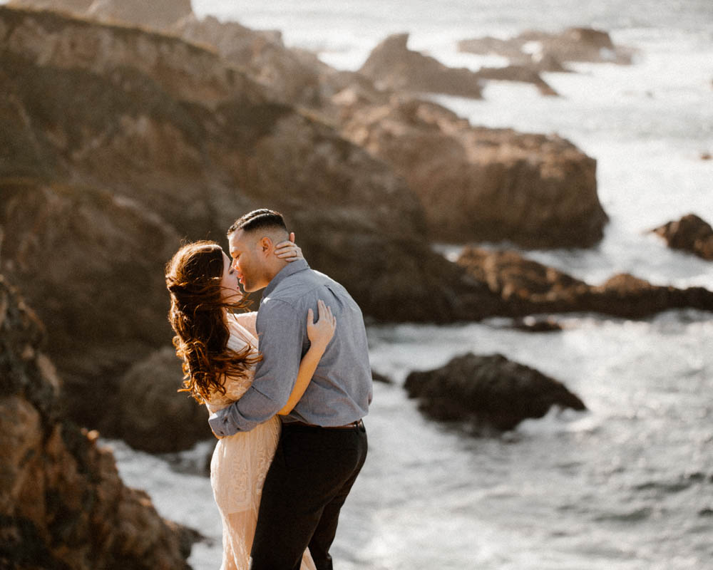 California top 33 epic engagement photography locations big sur cliffs