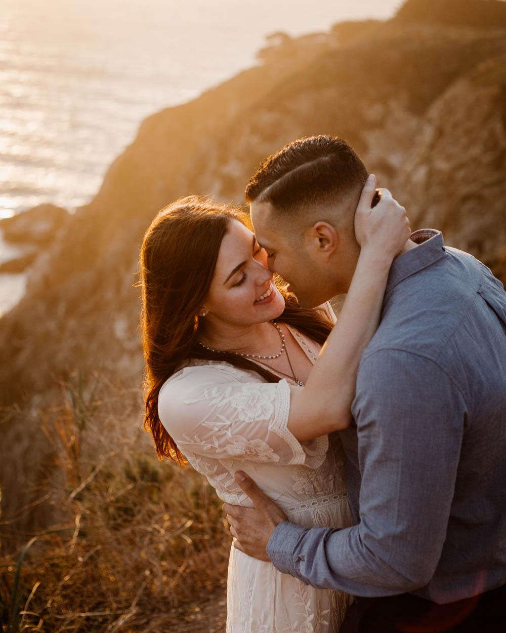 California top 33 epic engagement photography locations sunset in big sur