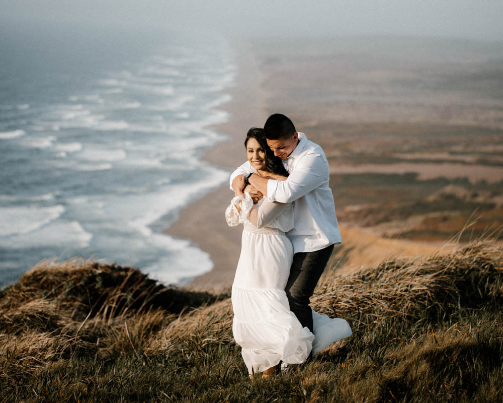California top 33 epic engagement photography locations point reyes with stunning views of the beach