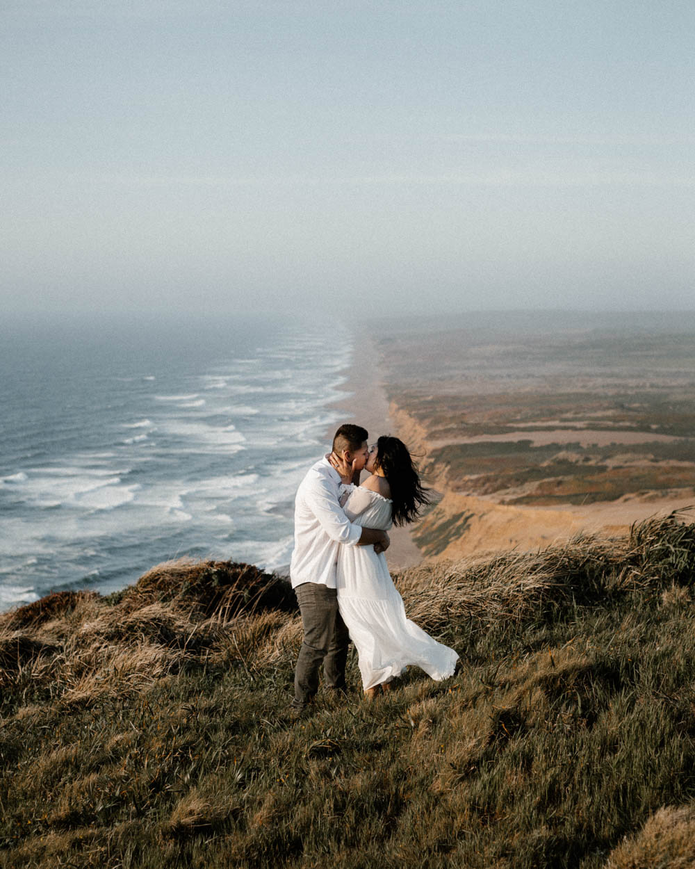 California top 33 epic engagement photography locations point reyes at sunset