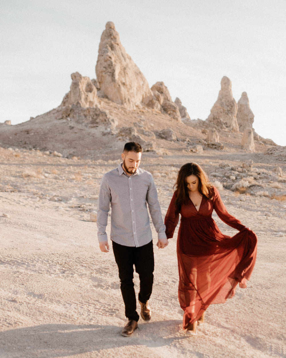 California top 33 epic engagement photography locations trona pinnacles