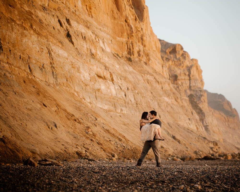 California top 33 epic engagement photography locations torrey pines beach