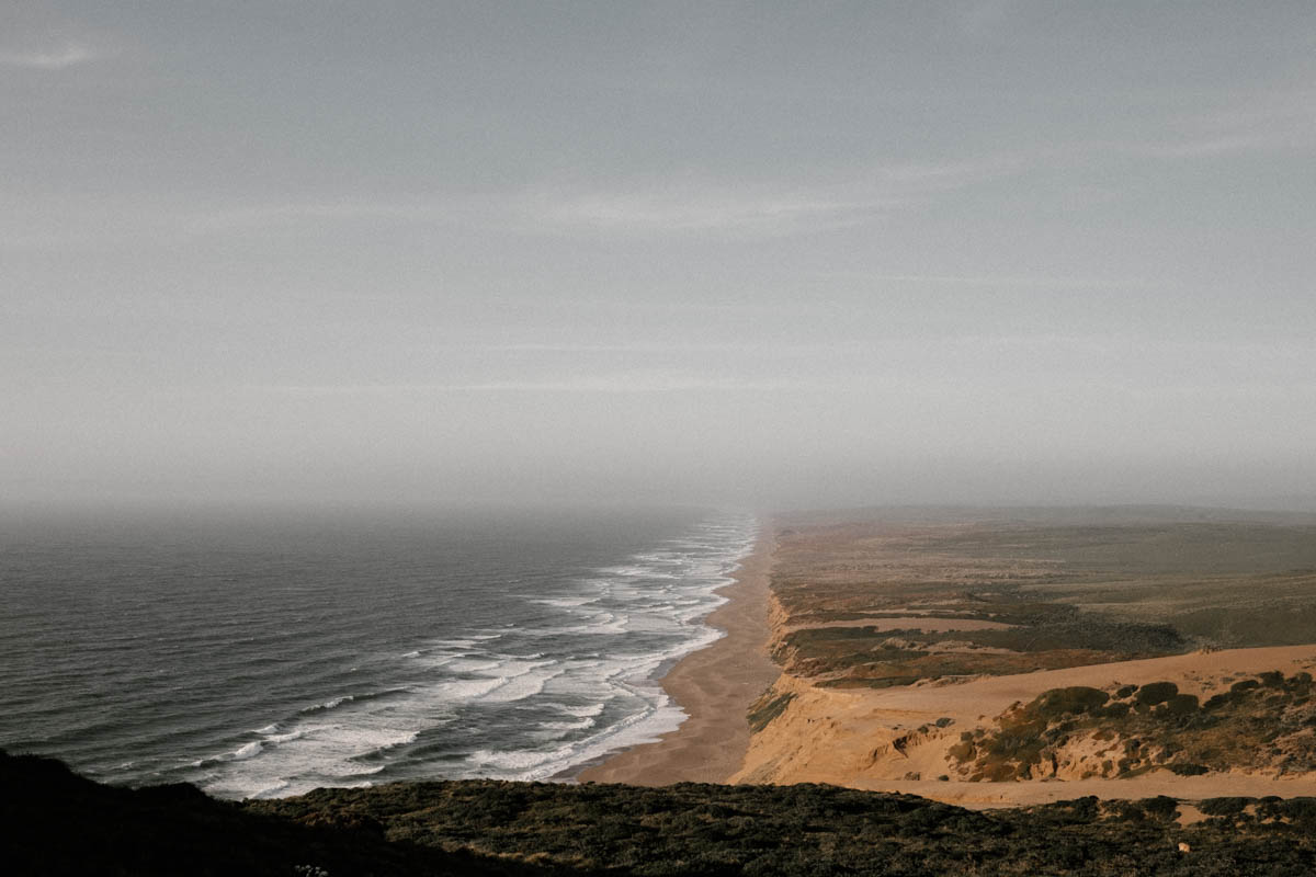 point reyes engagement shoot