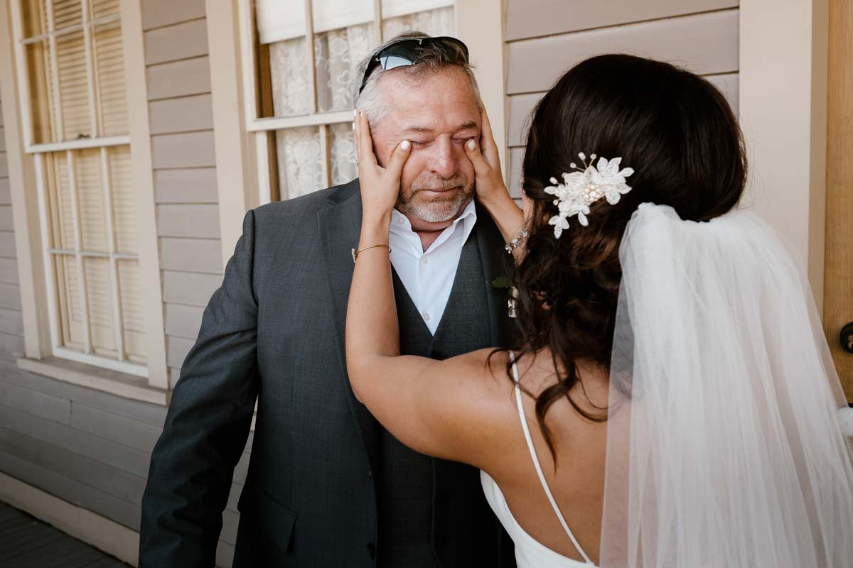5 benefits of a first look - do it with your dad