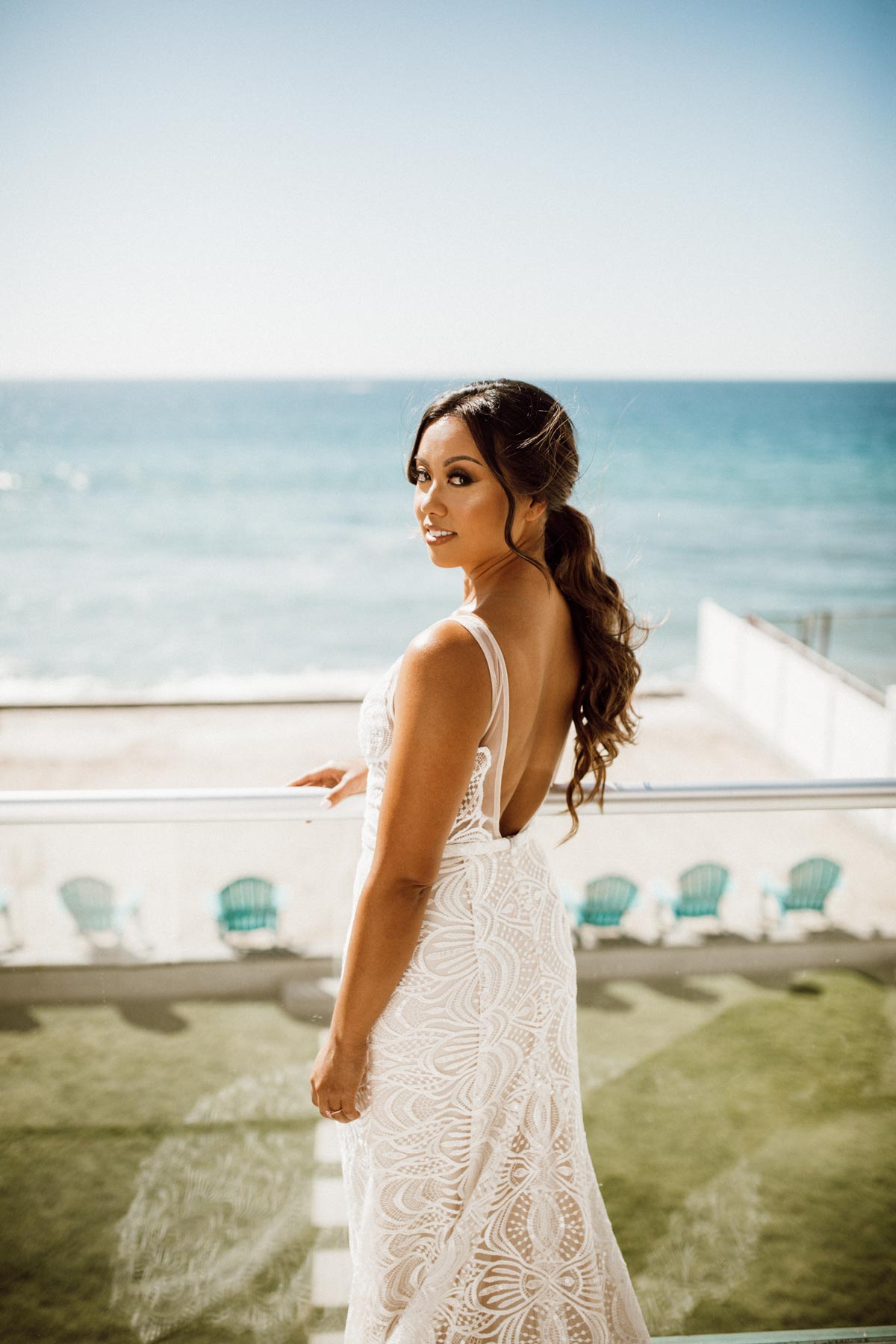 ethereal gardens wedding gorgeous bride