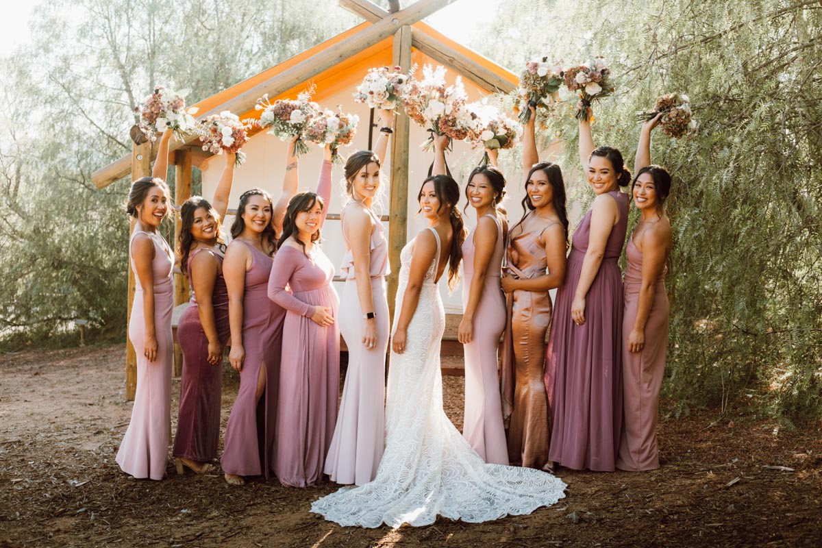 ethereal gardens wedding squad goals