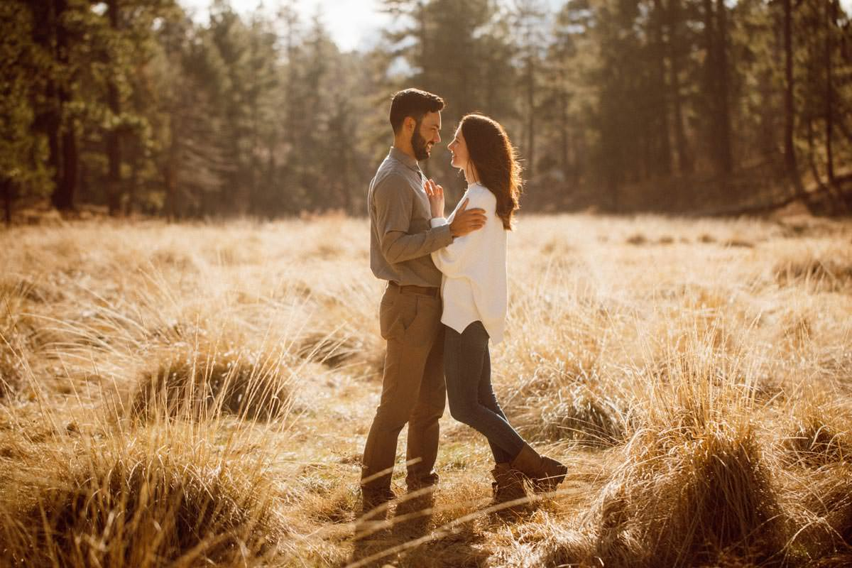mount laguna engagement shoot - just the two of us
