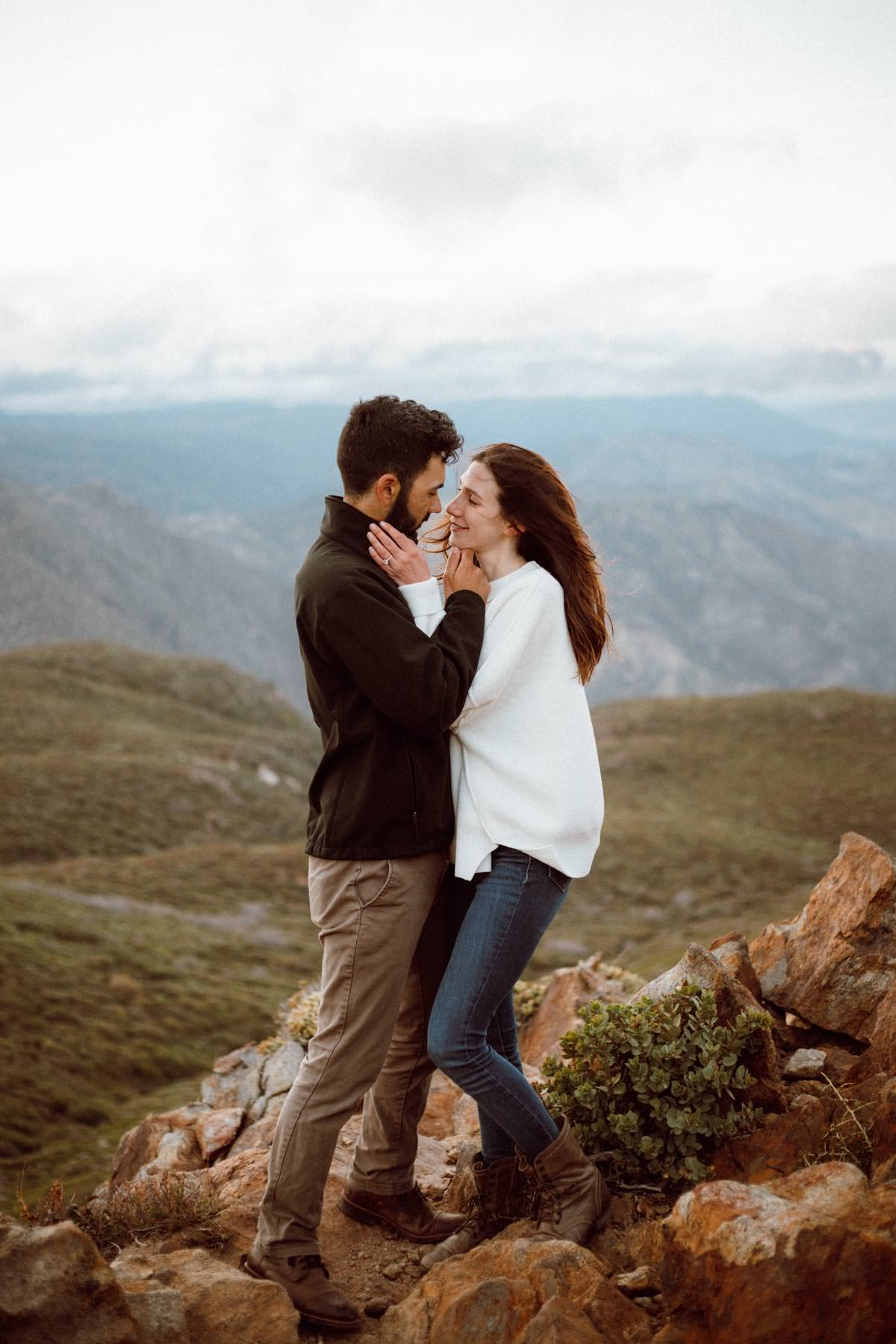 mount laguna engagement shoot sweet look sweet look